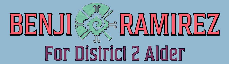 Benji for District 2 Alder, Banner